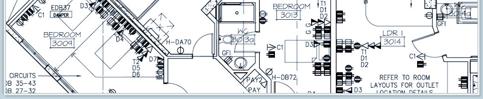 Blueprint Plotting and CAD Design services